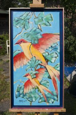 Mart Min Birds of Paradise